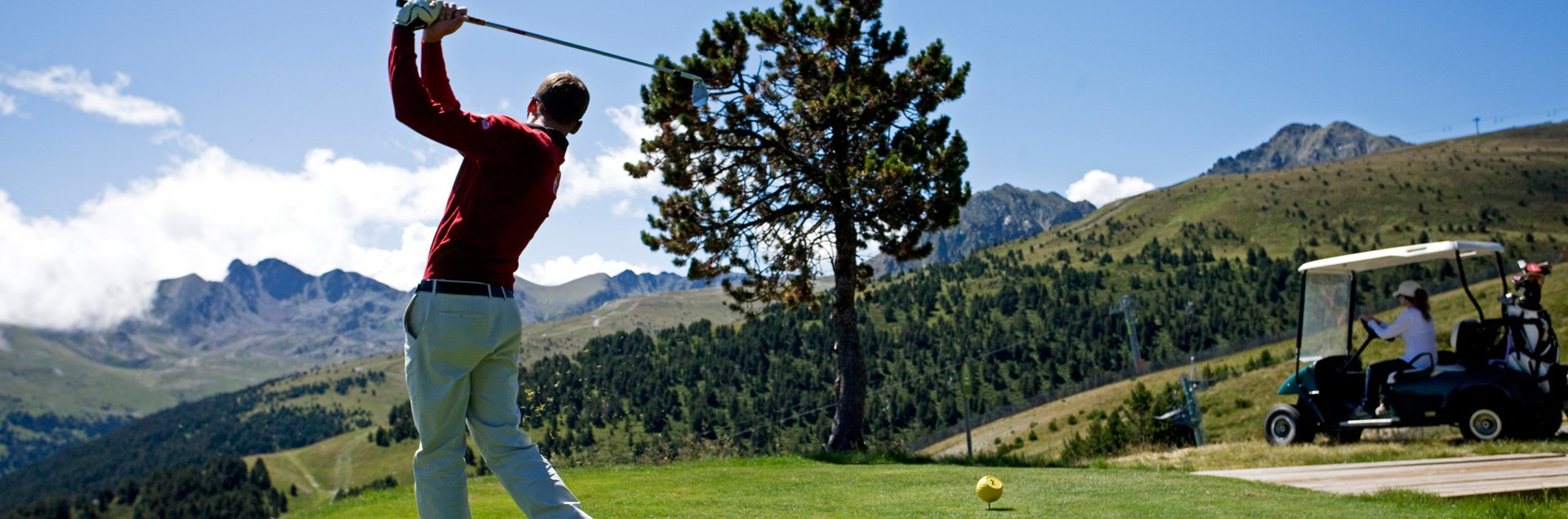 golf, green fee, inclos, montanya, hotel village, confort